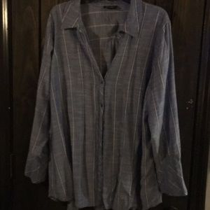 Button down top by Jessica Simpson
